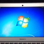 MacBook AirのBootCampでインストールした、Windows 7のスクリーンショットを撮る方法