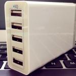 Ankerの40W 5ポート USB急速充電器は、買って大正解だった!