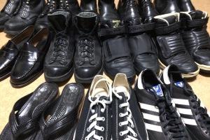 20141014靴 断捨離