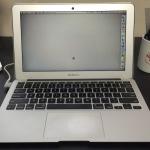 MacBookAirは、僕のメインアームだ !!