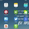 現在の僕のホーム画面 iPad4 & MacBook Air11inch Mid2013