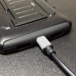 ミリタリー調Nexus 5ケース用に、micro USBケーブルを100均で購入!