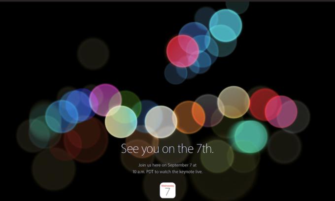 Apple Events - Keynote September 2016
