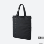Uniqlo U のトートバッグ+Eが、PO○TERみたいでイイ感じ!