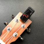 ウクレレにもギターにも! クリップ式デジタルチューナー「KORG pitchclip PC-1」