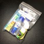 機内持ち込みに準拠するリキッドパックを、100均のチャック袋でつくる
