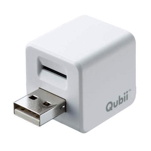 サンワダイレクト iPhoneカードリーダー 充電時自動バックアップ microSD MFi認証品 専用アプリ